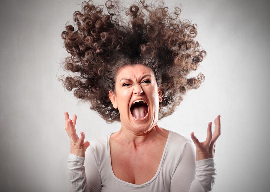 Angry Girl bigstock Very angry woman