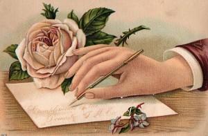 victorian-woman-writing