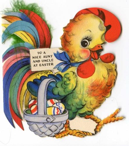 Easter Rooster001 443x499 EasterEggRabbits