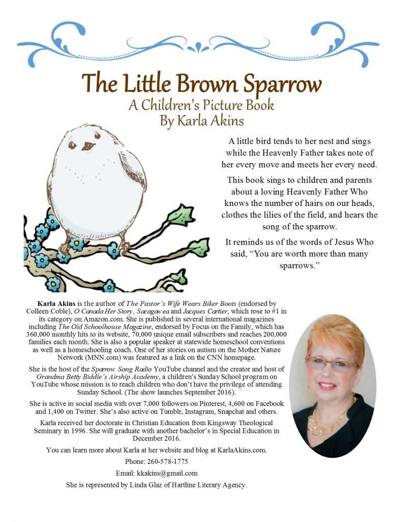 LittleBrownSparrowOneSheet