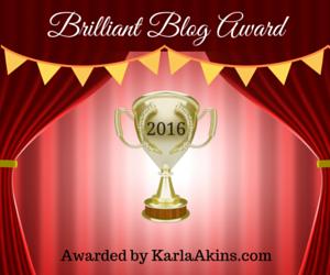 Brilliant Blog Award (2)
