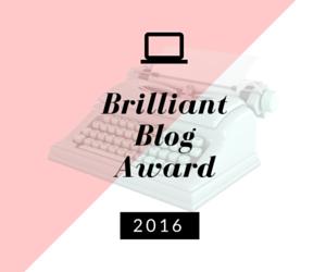 BrilliantBlogAward