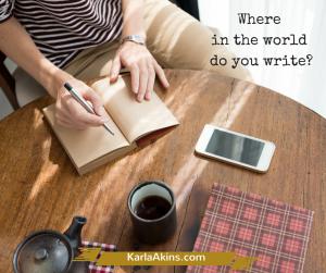 Where in the worlddo you write-